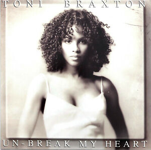 Toni Braxton CD Single Un-Break My Heart - Europe (EX+/EX+)