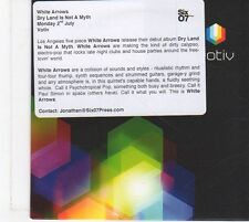 (FX37) White Arrows, Dry Land Is Not A Myth - 2012 unopened DJ CD