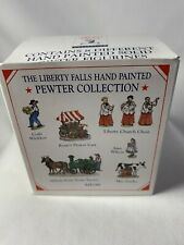 Liberty Falls Collection - Frontier Village - Pewter Collection 8 Piece - Ah199