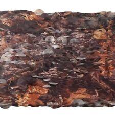 Geocache Stealth Camo Camouflage Net Cover Tree Camo Leaf  - 60 cm x 60 cm Piece