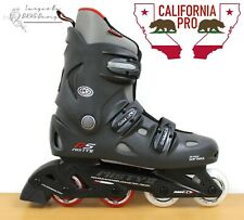 California Pro Misty II Kids Adults Black Inline Roller Skates ✅FREE UK SHIPPING