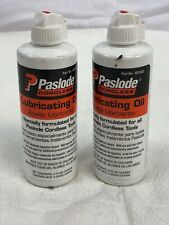 PASLODE CONSTRUCTION (PASLODE) PASLODE IMPULSE LUBRICANT LOT OF 2