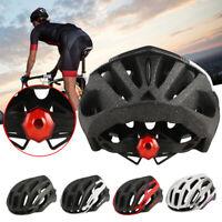 Herren Damen Fahrradhelm Leichter BMX MTB Bike Schutzhelm Radhelm mit Rücklicht