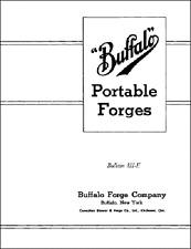 Buffalo Forges Portable Forges Manual 811-E