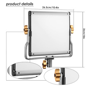 Neewer 480 Bright LED Bi-Color Dimmable Video Light LED Panel +Battery + Charger