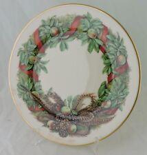 Vintage Lenox Colonial Christmas Wreath Plate 1987 Pennsylvania 7th Issue Usa