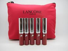 5X Lancome Comfort&Color Gloss In Love Lip Gloss, 0.17 oz / 5 ml SCARLET+Gift