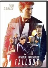 MISSION IMPOSSIBLE FALLOUT TOM CRUISE (DVD 2018) Ships from Ca, USA on 12/4