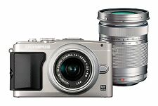 Olympus PEN E-PL5 mit 14-42 mm II R +40-150 mm  B-Ware  EPL5  silber / silver