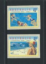 AUSTRALIA 1994 Life Saving 'PRINTSET CAMBEC'Self Adhesive Set Mint(SG 1443-1444)