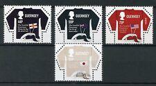 Guernsey 2017 MNH Guernsey Jumper SEPAC Handicrafts 4v Set Crafts Stamps
