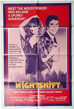 NIGHTSHIFT HENRY WINKLER 1 SHEET ORIGINAL CINEMA MOVIE POSTER
