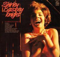 SHIRLEY BASSEY tonight MFP 41 5682 1 uk music for pleasure 1984 LP PS EX/EX