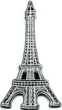Eiffel Tower Paris France landmark embroidered applique iron-on patch new S-323