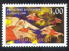 Andorra 1999 Christmas/Greetings/Angels/Animation 1v (n39123)