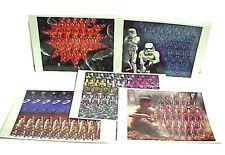 """Vintage Set of 5 Star Wars Magic Eye Postcards- 4""""x6""""- UNUSED- FREE S&H"""