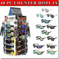 Sunglass Counter Display Spinning Bottom 48 Assorted Glasses  00004000 Included Retail Now