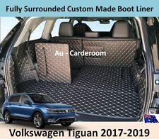 Volkswagen Tiguan 2017-2019 Custom Made Trunk Boot Mats Liner Cargo Mat Cover