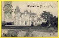cpa Ecrite en 1906 SAINT HILAIRE de COURT (Cher) CHÂTEAU de la CHAPONNIÈRE