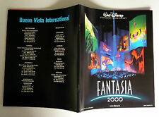 FANTASIA 2000 * Walt Disney - PRESSEHEFT 72-seitig -Ger Pressbook Deutsch ´00