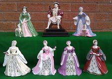 """WEDGWOOD - KING HENRY VIII & THE """"WIVES OF KING HENRY VIII"""" COLLECTION, LTD EDn."""
