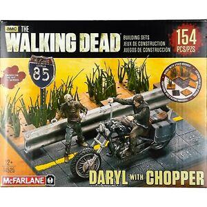 McFarlane Toys The Walking Dead DARYL DIXON With CHOPPER Building Set 14525