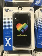 Disney Magic Kingdom Rainbow Pride Mickey Apple iPhone X Phone Case