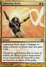 ▼▲▼ Hélice d'éclairs (Lightning Helix) RAV #213 FRENCH  Magic MTG
