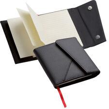 Notizbuch / DIN A6 / Umschlag aus weichem Echtleder / mit Magnetverschluss