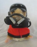 Gemmy Singing & Dancing Hamster #97 Racer Rubbermaid Headed For The Highway