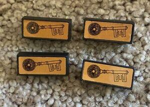 Dark Tower Board Game Brass Keys Four (4) Free Shipping