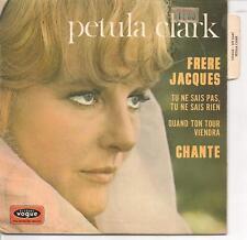 EP 4 TITRES--PETULA CLARK--FRERE JACQUES / TU NE SAIS PAS TU NE SAIS RIEN