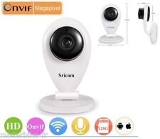 Camera Sans Fil WiFi IP IR Vision Nocturne Audio Webcam HD Enregistrement 128 Go