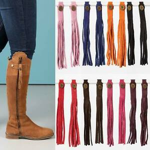 Rydale Tall Riding Boot Tassels Equestrian Spanish Boots Zip Accessory 8 Colours