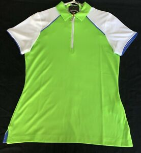 Callaway ladies short sleeve golf polo shirt