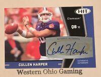 2009 Sage Hit Cullen Harper #A73 Rookie RC Auto Autographed Card