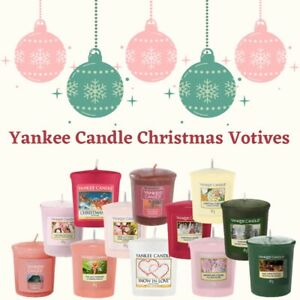 Yankee Candles Scented Christmas Votives  BUY 2 GET 2 FREE ** CHOOSE **