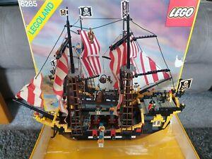 lego pirates black seas barracuda 6285 with box read description