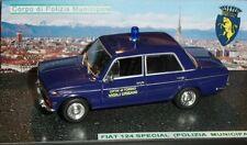 # 1/43 FIAT 124 SPECIAL VIGILI URBANI CITTA' DI TORINO (POLIZIA MUNICIP.) CODE3#