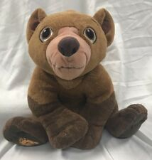 Disney Brother Bear 10' Plush Talking Koda Hasbro 2003 Push To Talk