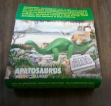 "28"" inflatable dinosaur Brontosaurus Apatosaurus new in package 90s + extra box"