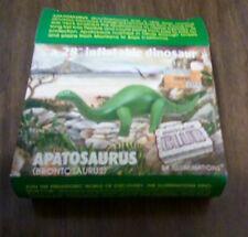 "28"" inflatable dinosaur Brontosaurus Apatosaurus new in package c 90s + xtra box"