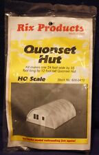 Quonset Hut Plastic Model Kit by Rix Products, HO Scale, Brand New