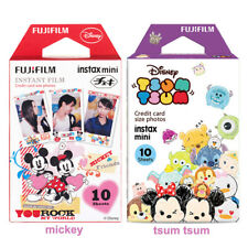 20pcs Tsum Tsum and Mickey Fujifilm Instax Mini Film For Mini 9 8 8+ 7s 70 90 25