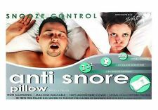 No Snooze Anti Snore Pillow Soft Head Neck Orthopedic Support Comfortable Pillow