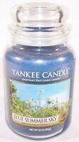 Yankee Candle Blue Summer Sky 22 oz Large Jar New