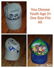 Boys Youth One Size Fits All Adjustable Baseball Cap