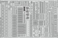 Eduard PE 53111 1/200 USS Arizona part 5 - railings Trumpeter