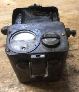 Vintage Mining MSA Explosimeter Combustible Gas Indicator