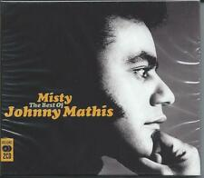 Johnny Mathis - Misty [The Best Of / Greatest Hits] 2CD NEW/SEALED